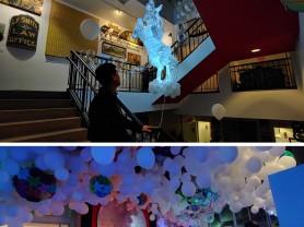 공기조각가 고홍석, 미국 MAH 페스티벌 'GLOW' 한국인 최초 오프닝 전시 초청